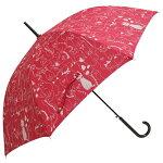 ★婦人長傘,.,.,.,.白ねこさん・と・黒猫さん・122匹???にゃんこ,.,.,.,.,.★60cmジャンプ傘
