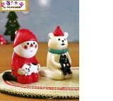 ☆彡クリスマス黒猫・三毛猫の2ケセット
