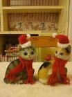 ☆彡クリスマス三毛猫ちゃん!!サンタクロースにゃ!!