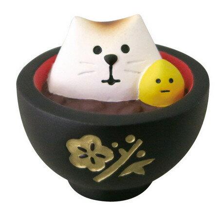 ~~☆~~やっぱりにゃ!! まったりお正月  ふわこげ猫・さんにゃ!! が おいしいぜんざい!!に お正月するのにゃ!! ~~☆~~