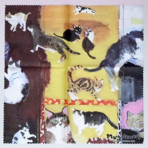 【Manhattaner's】マンハッタナーズ メガネクロスMAN-22★宅急便の猫