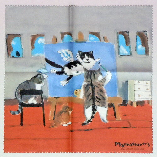 【Manhattaner's】マンハッタナーズ メガネクロスMAN-23★心の友へ愛を込めて