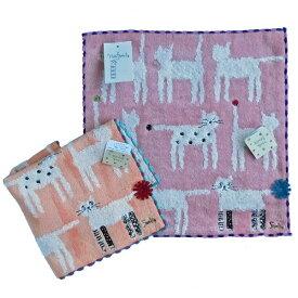 【ノアファミリー】猫のタオルハンカチ socks cat