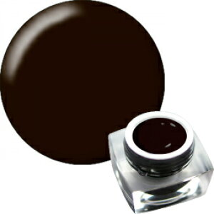 KOKOIST ソークオフカラージェル エクセルライン E-17 ビターチョコレート 4g【ソークオフ/カラージェル/ジェルネイル/ネイル用品】