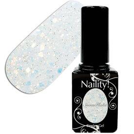 Naility!(ネイリティー) ステップレスジェル 017 スノーフレーク 7g 【ソークオフ/カラージェル/ポリッシュ タイプ/uv led 対応/国産/ジェルネイル/ネイル用品】