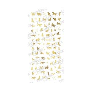 TSUMEKIRA Fumiプロデュース3 +1(zero) dog matte gold (犬 マットゴールド) NN-FUM-106 (ジェル専用) 【ツメキラ/フミ/ネイルアート/ネイルシール/ネイル用品/ジェルネイル/セルフネイル】