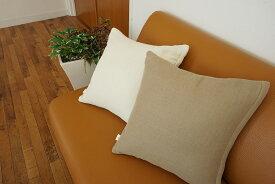 cumuco ガーゼ クッションカバー 無地 三河木綿 和晒 日本製 綿100% クムコ 柔らか 選べる8色 45×45cm