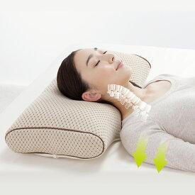 ボディスタイル正常化枕 STYLE PIT スタイルピット 枕 ロング 矯正 整骨院 姿勢 ストレートネック 肩こり 横向き寝 いびき 洗える 送料無料 あす楽