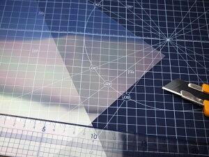 寺岡製作所 超極薄タイプ 両面粘着テープ 7070W 297mm×210mm 5枚入薄いフィルムや紙などの貼り合わせ