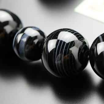 数珠,黒縞瑪瑙