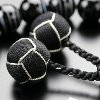 縞瑪瑙,数珠