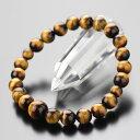 数珠ブレスレット 約8ミリ 虎目石【腕輪念珠 念誦 パワーストーン 天然石 タイガーアイ 男性用 女性用 メンズ レディ…