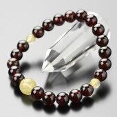 数珠ブレスレット,ガーネット