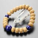 数珠 ブレスレット 約8×11.5ミリ 天竺菩提樹 ラピスラズリ【腕輪念珠 天然石 パワーストーン 9月の誕生石 IM 1070003…
