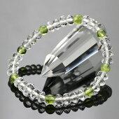 ペリドット,数珠ブレスレット