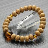 琥珀,数珠ブレスレット