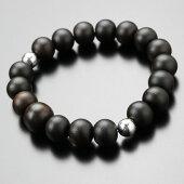 黒檀,数珠ブレスレット