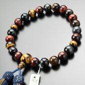 数珠,男性用,虎目石