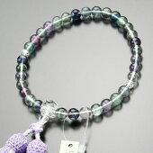 蛍石,数珠