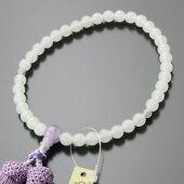 数珠,白オニキス