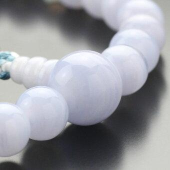 数珠,女性用,ブルーレース