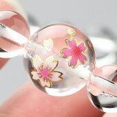 数珠ブレスレット,本水晶