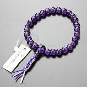 数珠ブレスレット,紫水晶