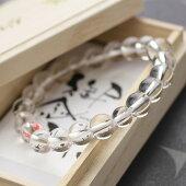 数珠ブレスレット,水晶