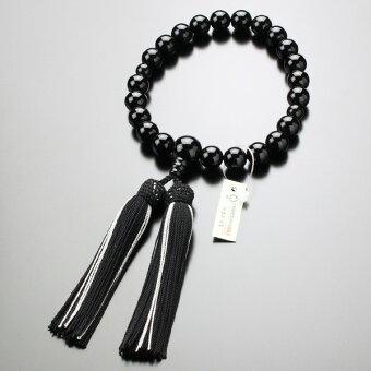 数珠,男性用,オニキス
