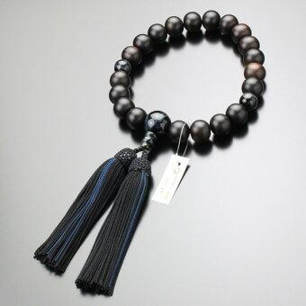 数珠,黒檀