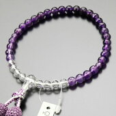 数珠、紫水晶