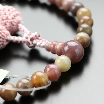 ピンク印度瑪瑙,数珠