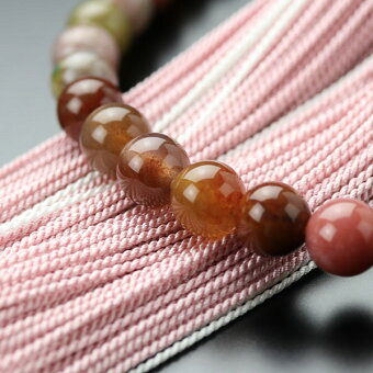 ピンク,数珠