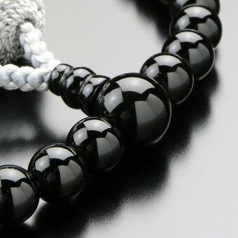 数珠,オニキス