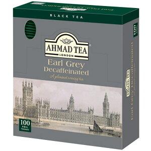 AHMAD TEA デカフェ アールグレイ ティーバッグ 100P アーマッド
