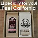 GIFTカリフォルニアコーヒーギフトセット(サンタクルーズ・ロースティングコーヒー+スムーチ・フレーバーコーヒー)【楽ギフ_包装】…