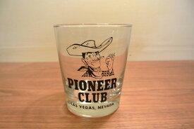 インポート◆アメリカ◆USA◆ヴィンテージ◆PIONEER CLUB Tumbler Glassパイオニアクラブ・タンブラーグラス