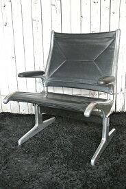 Herman Miller ハーマンミラー社Tandem Sling Seating/Eames タンデムスリングシーティング1座/イームズ (Black)