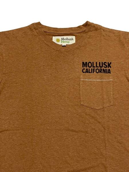 MOLLUSKSURFHempSurfSupplyTeeモラスクサーフヘンプサーフサプライティー(OrangeEarth)