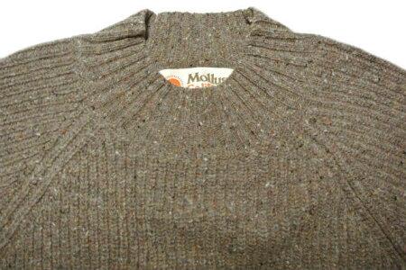 MOLLUSKSURFW'sTeddySweater(alpaca/MoonStone)モラスクサーフウィメンズ・アメリア・カーディガン
