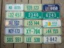 70's Vintage Number Plate ヴィンテージナンバープレート (自転車/ブリキ)