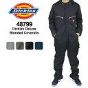 Dickies Deluxe Blended Coveralls ディッキーズ 長袖 カバーオール つなぎ≪4879/48799≫【35】 US企画 [BB]