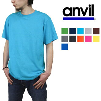 5.4 anvil oz. 100% of anvil TEARAWAY blue label heavyweight plain fabric T-shirt cotton ≪ ten colors≫