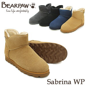 ベアパウ(BEARPAW) Sabrina WP ムートンブーツ/レディース/女性用 [BB]