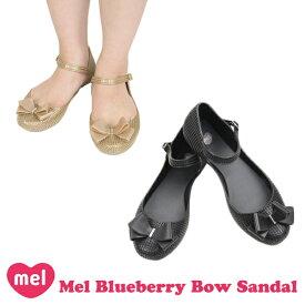 メル(Mel Shose by Melissa) メル ブルーベリー(Mel Blueberry Bow Sandal) レディース ラバーサンダル/フラットサンダル/ストラップ/フラットシューズ/バレエシューズ/メリッサ セカンドライン【45】 [AA]