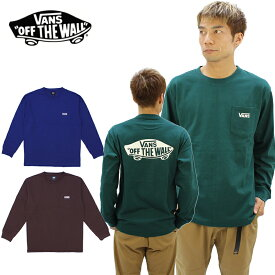バンズ(VANS) Vans Logo L/S T-shirt メンズ 長袖 Tシャツ/ロングTシャツ/ロンT/ポイント10倍 国内正規品 [AA]