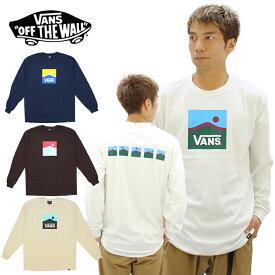 バンズ(VANS) Mauntain Sequence L/S T-shirt メンズ 長袖 Tシャツ/ロングTシャツ/ロンT/ポイント10倍 国内正規品 [AA]