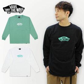 バンズ(VANS) Paint Print L/S T-shirt メンズ 長袖 Tシャツ/ロングTシャツ/ロンT/ポイント10倍 国内正規品 [AA]
