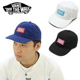 【ポイント10倍】バンズ(VANS) California Box Logo Low Cap キャップ/帽子/男性用[BB]