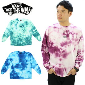 バンズ(VANS) Tie Dye L/S T-shirt メンズ 長袖 Tシャツ/タイダイTシャツ ポイント10倍 国内正規品 [AA]